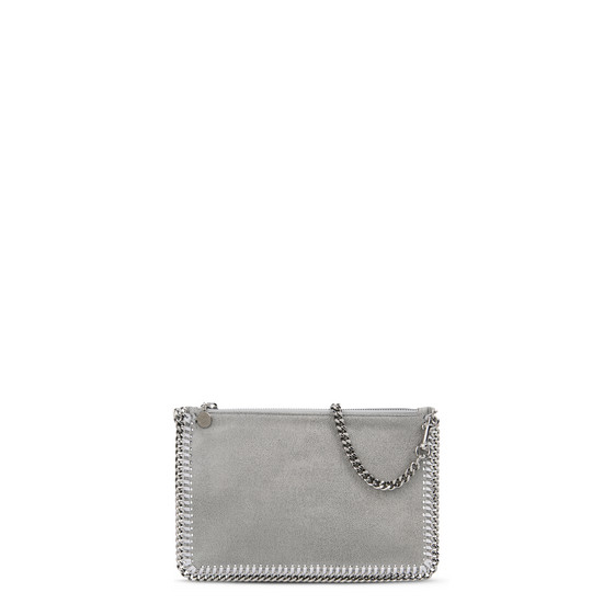 Light Grey Falabella Shaggy Deer Purse