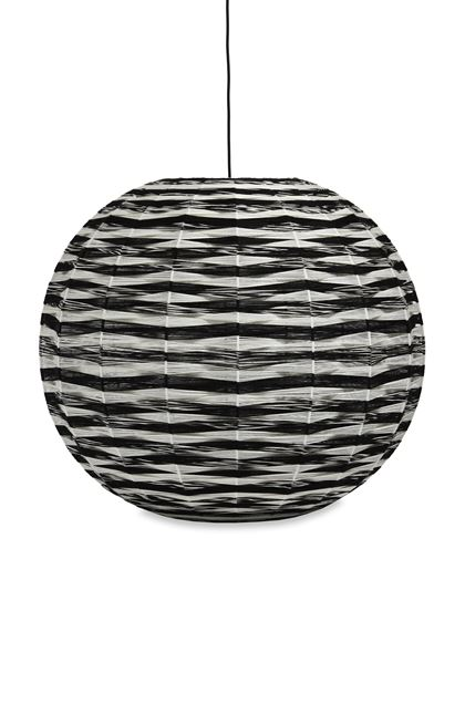MISSONI HOME THEA_KUTA LAMP  Black E - Front