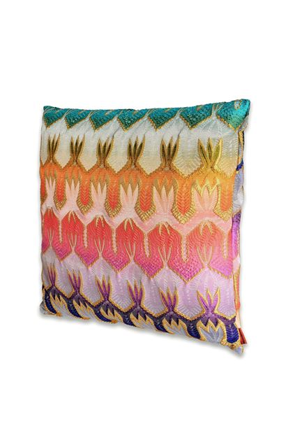 MISSONI HOME PASADENA CUSHION Purple E - Back