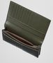BOTTEGA VENETA CONTINENTAL WALLET IN DARK SERGEANT INTRECCIATO VN Continental Wallet U ap