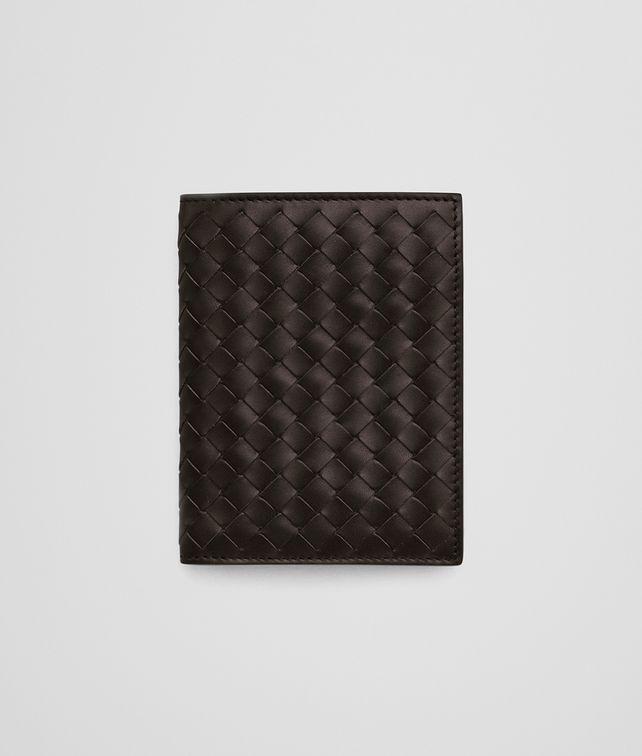 BOTTEGA VENETA ESPRESSO INTRECCIATO BI-FOLD WALLET Bi-fold Wallet U fp