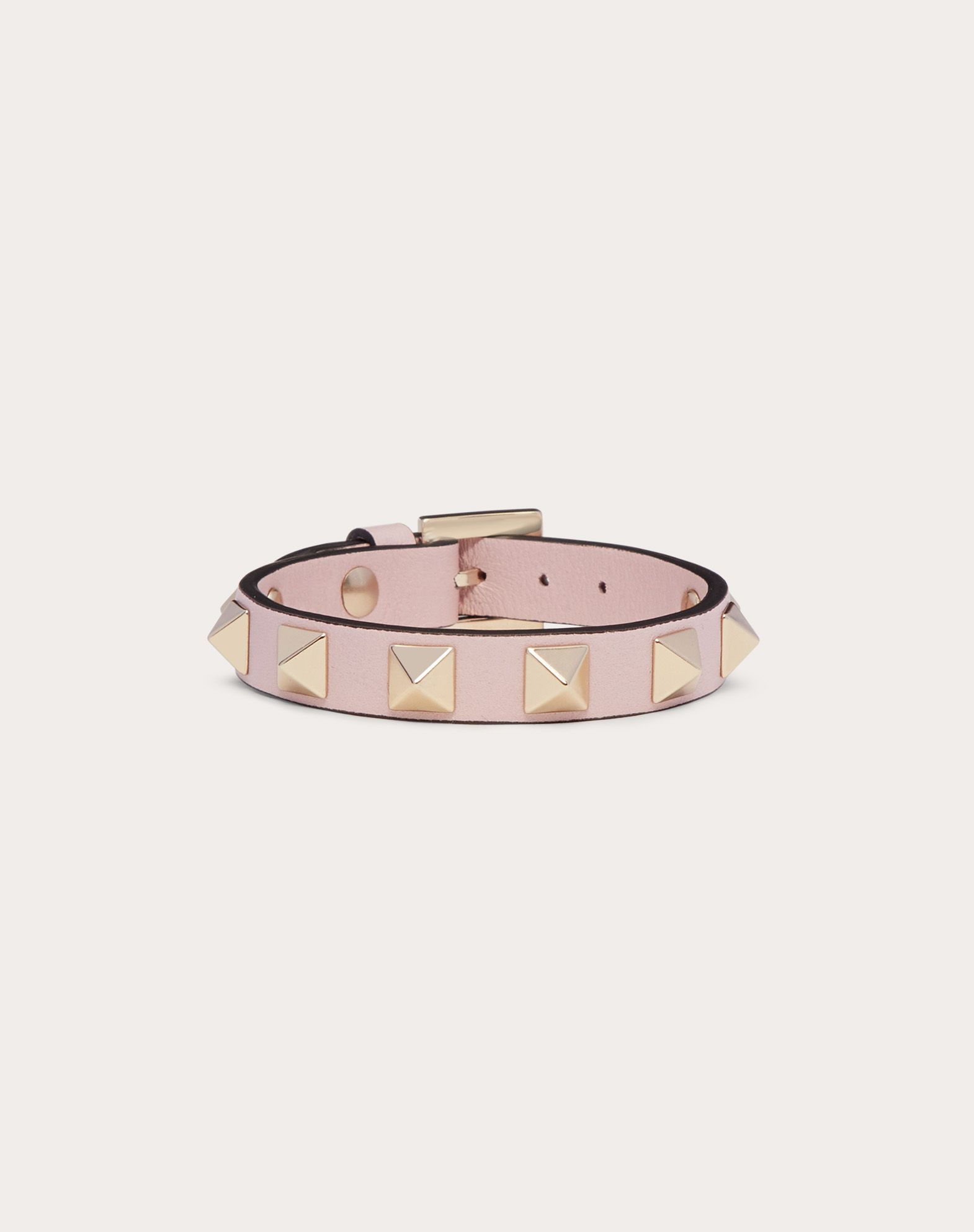 VALENTINO Logo detail Metal Applications Solid colour Buckle  46407114cx