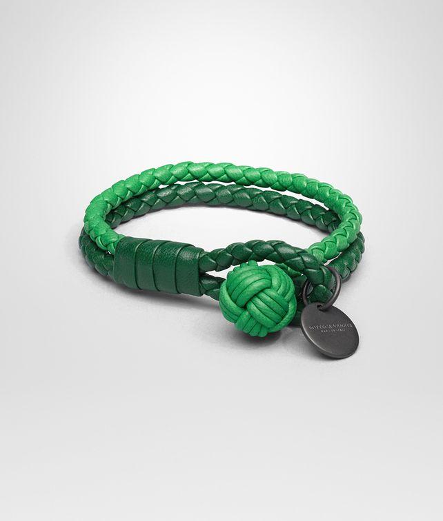 BOTTEGA VENETA KELLY IRISH INTRECCIATO NAPPA BRACELET Keyring or Bracelets E fp