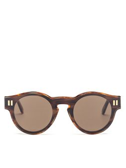 Marni Glasses in acetate with colored lenses Woman