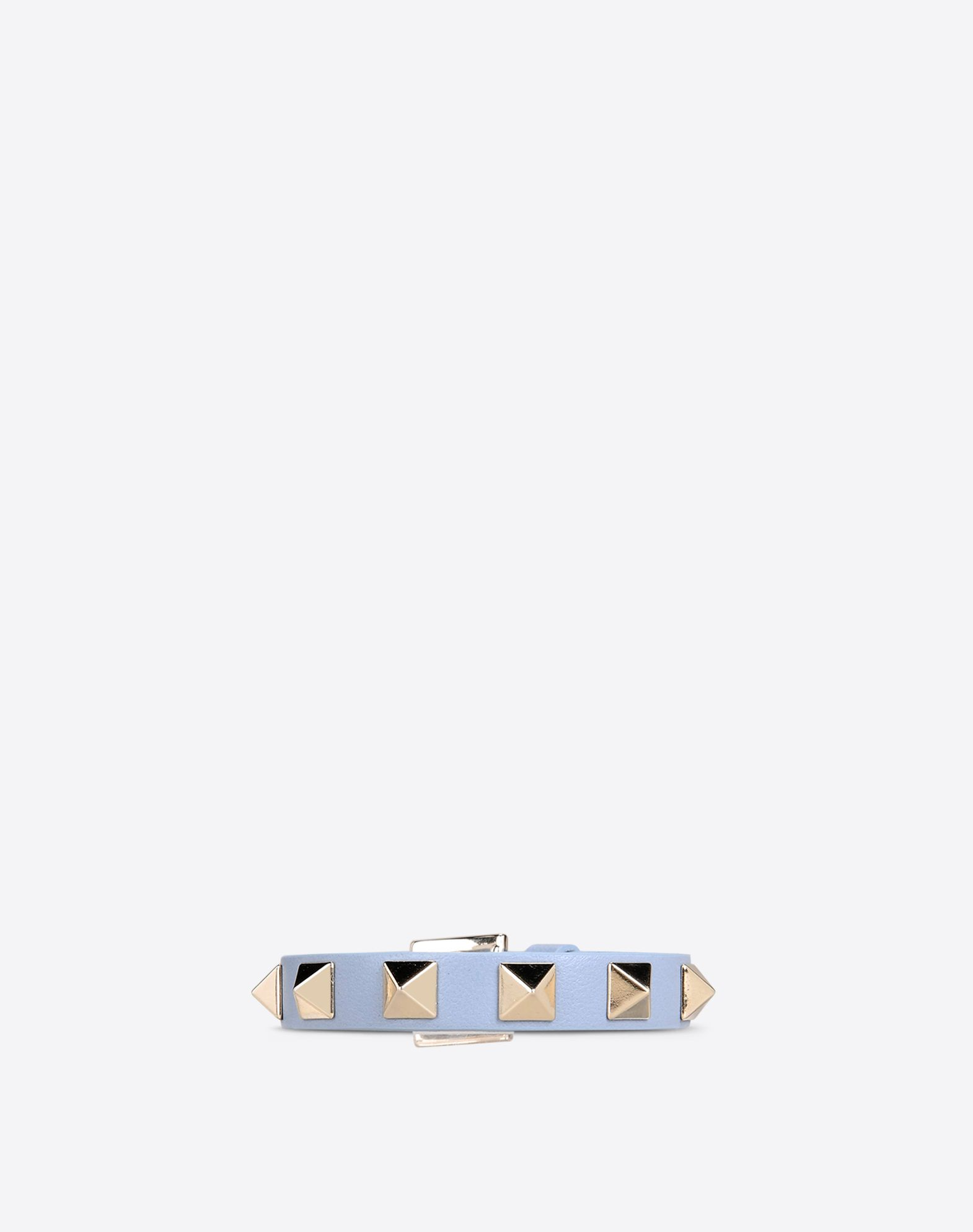 VALENTINO Logo detail Metal Applications Solid color Buckle  46414798ds