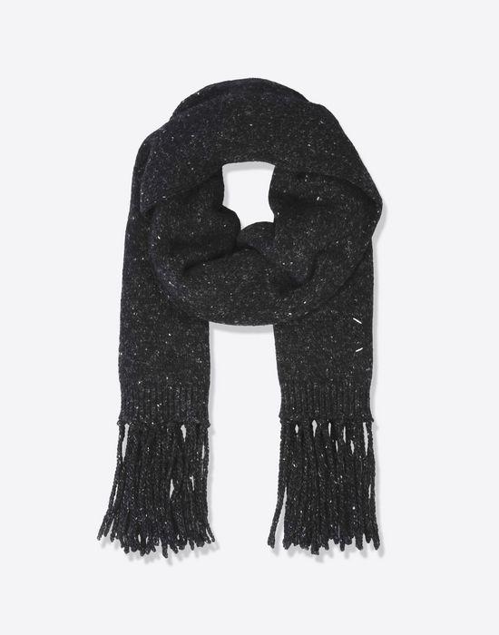 MAISON MARGIELA 14 Sciarpa a frange in lana di cammello Sciarpa [*** pickupInStoreShippingNotGuaranteed_info ***] f