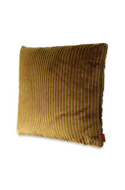MISSONI HOME RAFAH CUSHION Military green E - Back