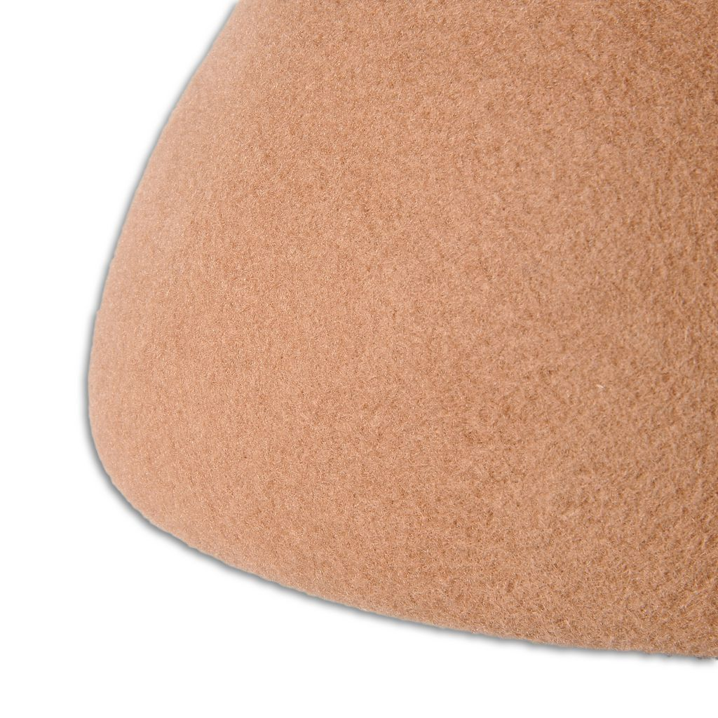 Camel Wool Beret - STELLA MCCARTNEY