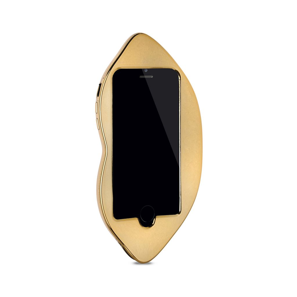 Metallic Lips iPhone 5 Cover - STELLA MCCARTNEY