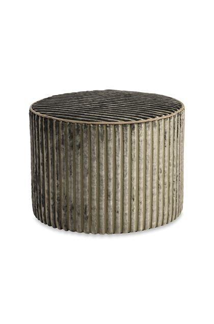 MISSONI HOME RABAT CYLINDER POUF Grey E - Back