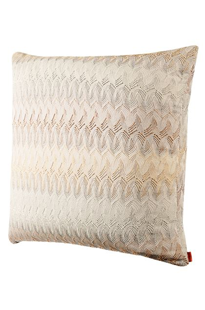 MISSONI HOME REMICH CUSHION Beige E - Back