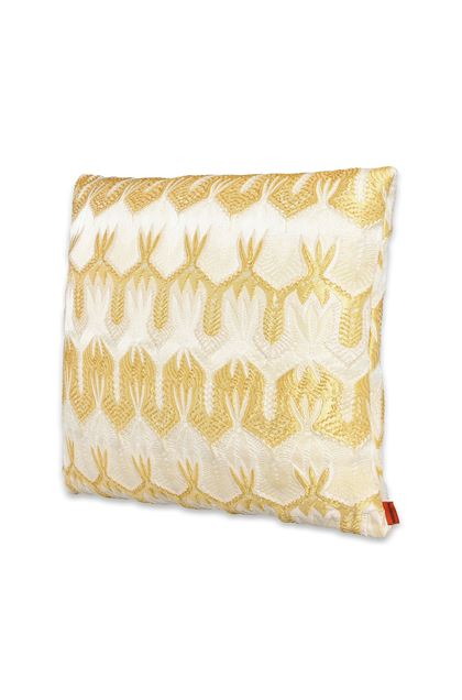 MISSONI HOME ORMOND_GOLD CUSHION Beige E - Back