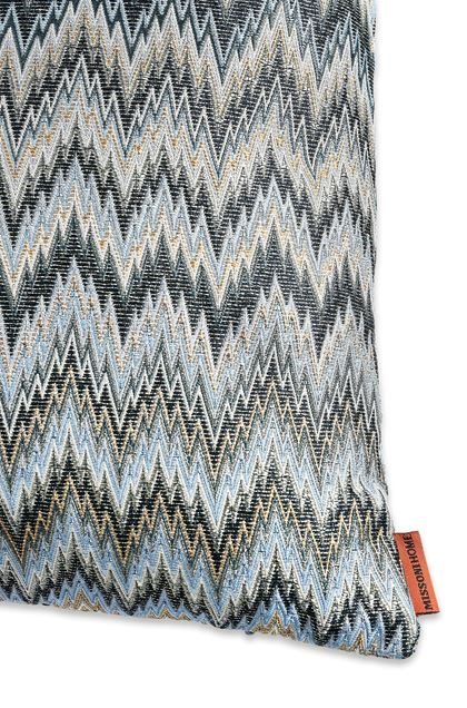 MISSONI HOME PLAISIR CUSHION Sky blue E - Front