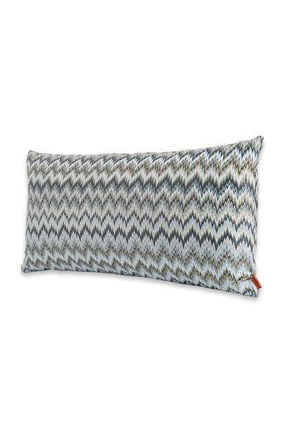 MISSONI HOME PLAISIR CUSHION Sky blue E - Back
