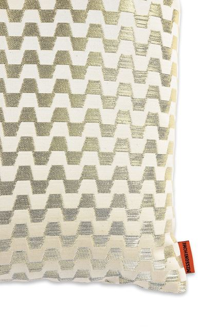 MISSONI HOME LOK CUSHION Beige E - Front