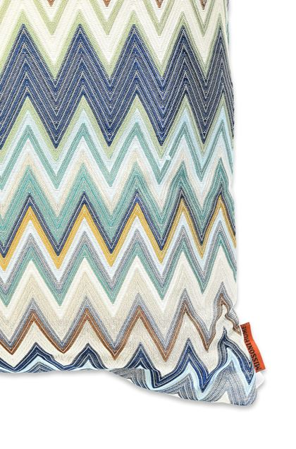 MISSONI HOME MASULEH CUSHION Blue E - Front