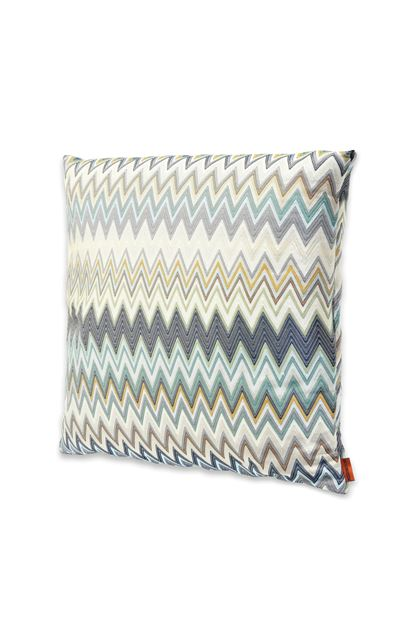 MISSONI HOME MASULEH CUSHION Blue E - Back