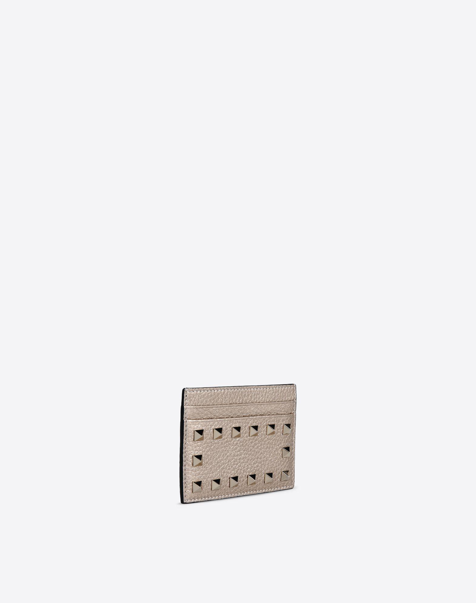 VALENTINO GARAVANI Rockstud Card Holder COIN PURSES & CARD CASES D r