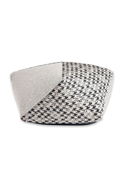 MISSONI HOME REALEZA DIAMANTE POUF Ivory E - Back