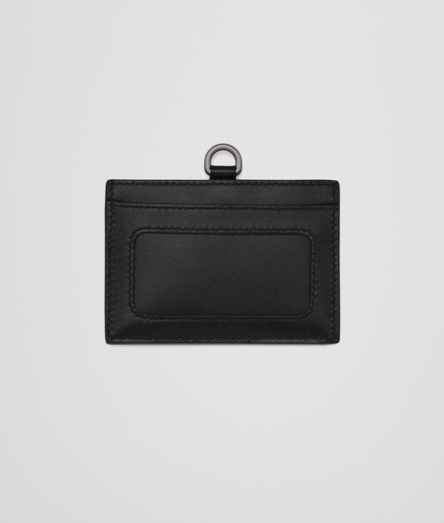 BOTTEGA VENETA NERO INTRECCIATO NAPPA CARD CASE Other Leather Accessory E fp