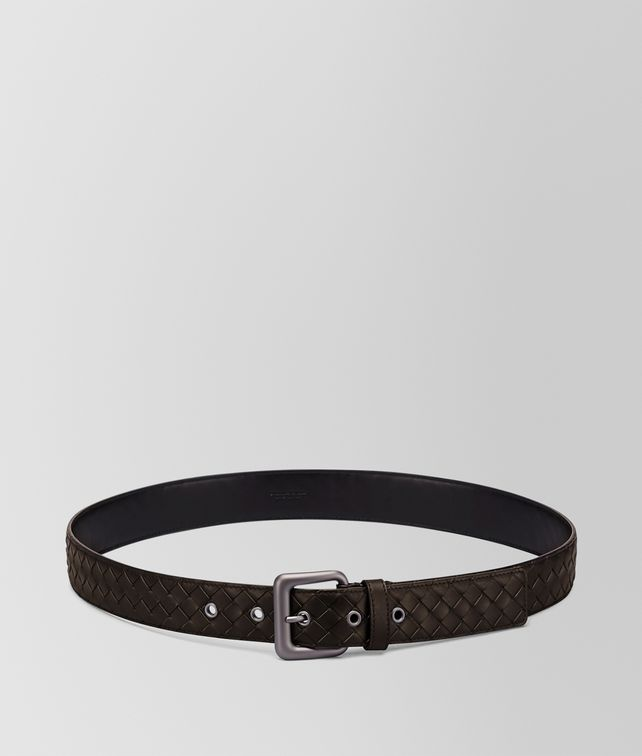 BOTTEGA VENETA BELT IN ESPRESSO INTRECCIATO VN Belt Man fp