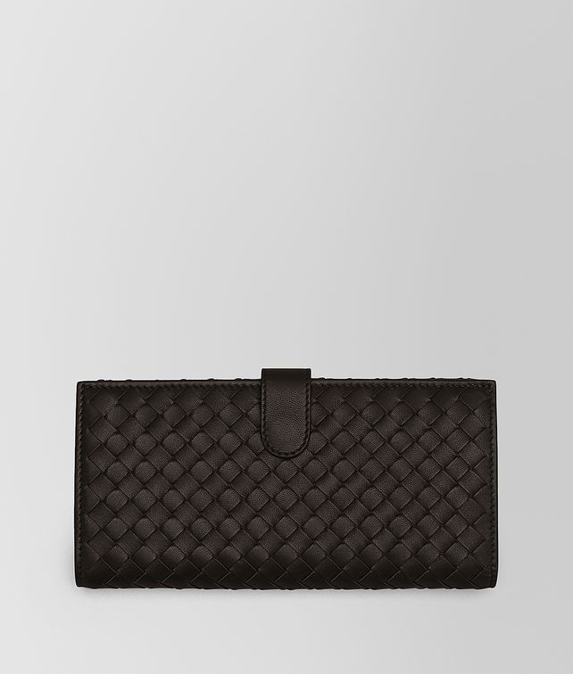 BOTTEGA VENETA CONTINENTAL WALLET IN ESPRESSO INTRECCIATO NAPPA  Continental Wallet [*** pickupInStoreShipping_info ***] fp