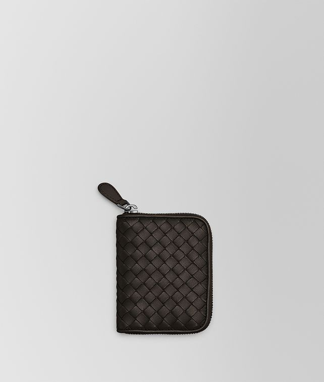 BOTTEGA VENETA ESPRESSO INTRECCIATO NAPPA COIN PURSE Card Case or Coin Purse [*** pickupInStoreShipping_info ***] fp