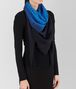 BOTTEGA VENETA PERIWINKLE BLUE WOOL SCARF Scarf or other E rp
