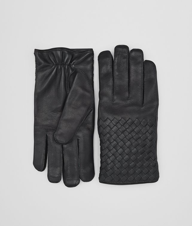 BOTTEGA VENETA GLOVES IN DARK ARDOISE NAPPA Scarf or other U fp