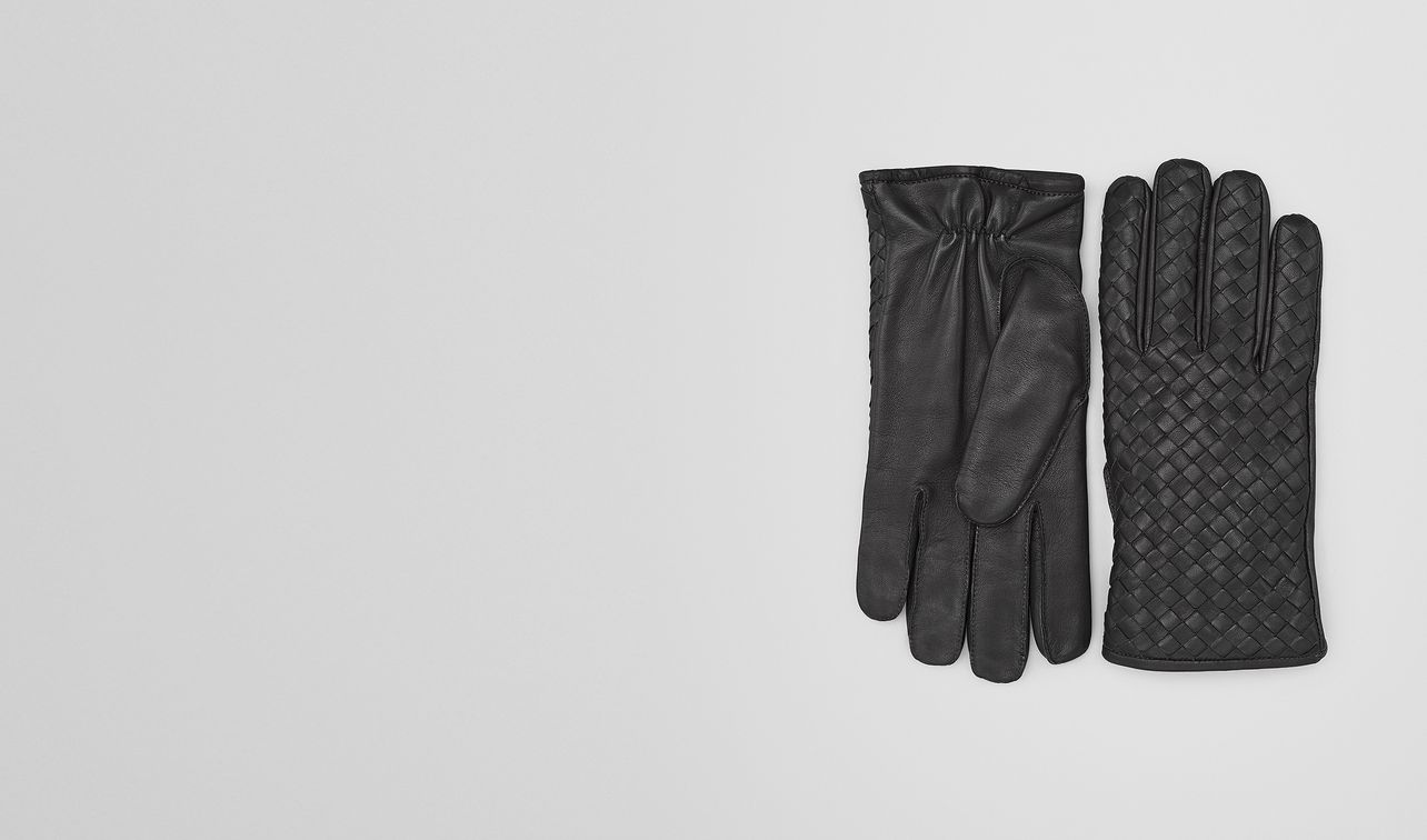 gloves in dark ardoise nappa landing