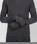 gloves in dark ardoise nappa Right Side Portrait