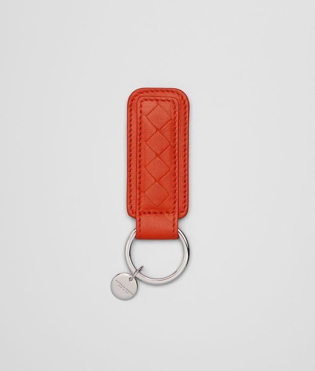 BOTTEGA VENETA KEY RING IN VESUVIO INTRECCIATO NAPPA Keyring or Bracelets E fp