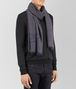 BOTTEGA VENETA SCARF IN ANTHRACITE BLUE CASHMERE WOOL SILK Scarf or other Man rp
