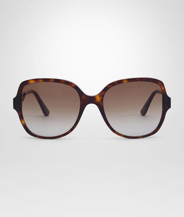 e386c1c359 BOTTEGA VENETA SUNGLASSES IN DARK HAVANA ACETATE LEATHER BROWN LENS  Sunglasses      pickupInStoreShipping info