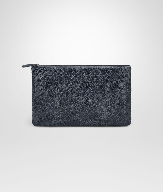 BOTTEGA VENETA MEDIUM DOCUMENT CASE IN PRUSSE INTRECCIATO AYERS Other Leather Accessory Woman fp