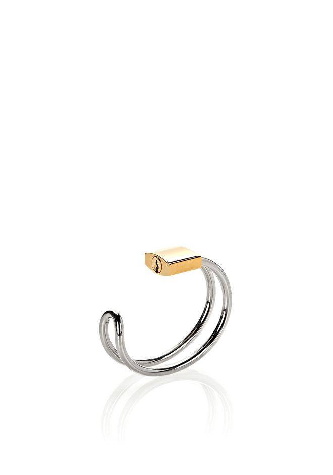 ALEXANDER WANG jewelry LOCK HINGE CUFF BRACELET