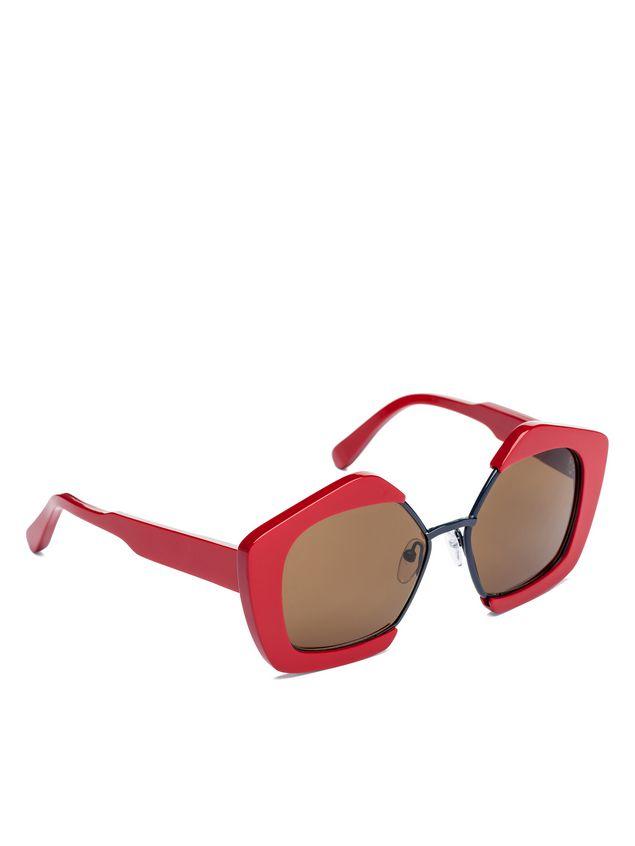 Marni MARNI EDGE glasses in acetate and metal Woman - 2