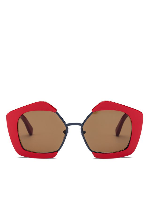 Marni MARNI EDGE glasses in acetate and metal Woman - 1