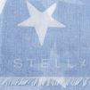 STELLA McCARTNEY Sky Blue Star Scarf Scarf D e