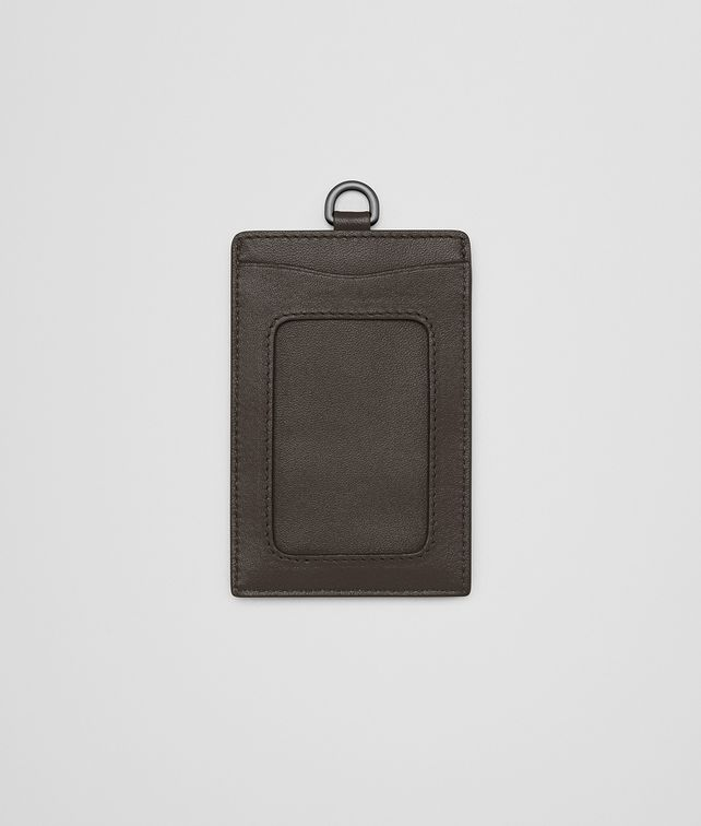 BOTTEGA VENETA CARD CASE IN ESPRESSO INTRECCIATO NAPPA Other Leather Accessory E fp