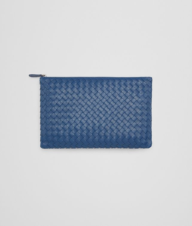 BOTTEGA VENETA MEDIUM DOCUMENT CASE IN PACIFIC INTRECCIATO NAPPA Other Leather Accessory E fp