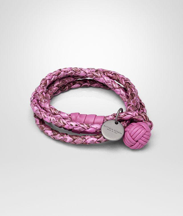 BOTTEGA VENETA BRACELET IN PEONY AYERS Keyring or Bracelets Woman fp