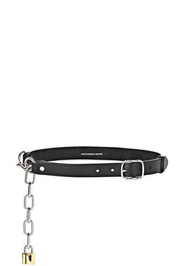 ATTICA CHAIN BELT IN BLACK