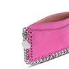 STELLA McCARTNEY Hot Pink Falabella card holder Falabella Wallets D e