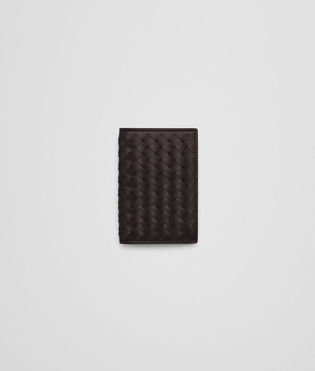 BOTTEGA VENETA ESPRESSO INTRECCIATO CARD CASE Card Case or Coin Purse Man fp