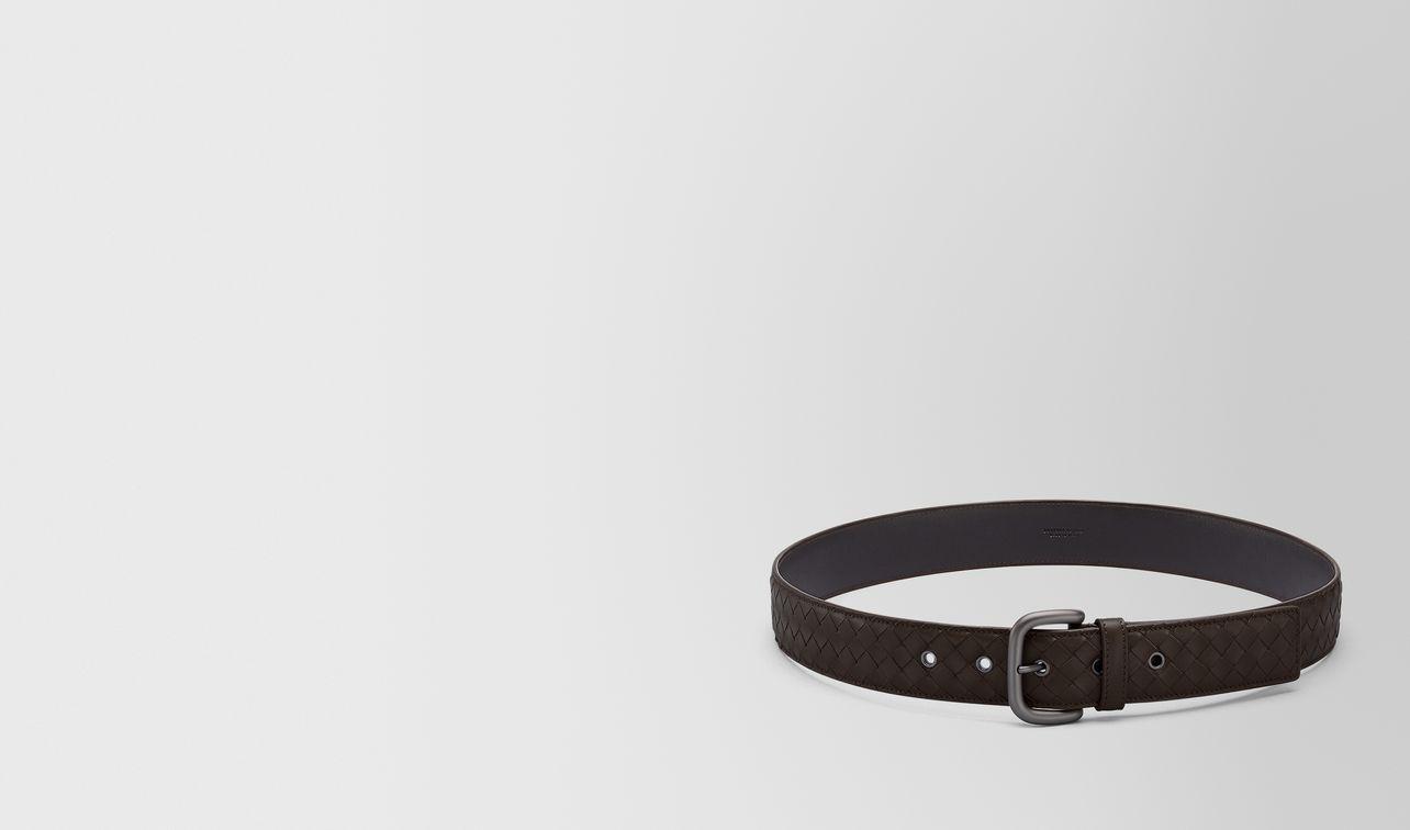 espresso intrecciato belt landing