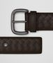 BOTTEGA VENETA BELT IN ESPRESSO INTRECCIATO VN Belt Man rp
