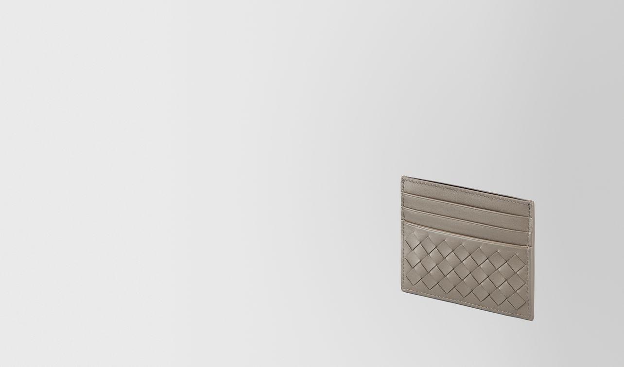 steel intrecciato card case landing