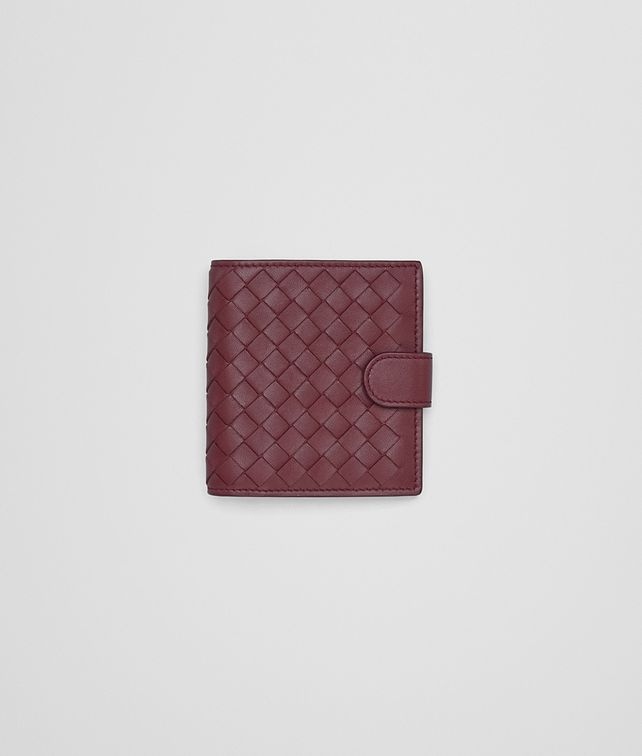 BOTTEGA VENETA BAROLO INTRECCIATO NAPPA MINI WALLET Mini Wallet or Coin Purse D fp