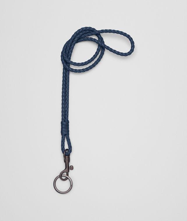 BOTTEGA VENETA PORTE-CLÉS EN INTRECCIATO NAPPA PACIFIC Porte-clé ou Bracelet E fp
